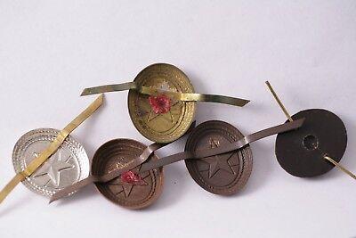 Hungary Hungarian hat badge cochade army badge NCO Lower Rank brass Star Soviet