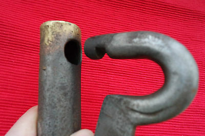 Vintage Large Padlock with one key, very heavy, working order. 3