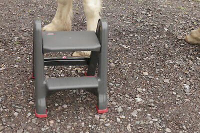 Magnificent Curver Foldable Step Stool Portable Equestrian Mounting Ocoug Best Dining Table And Chair Ideas Images Ocougorg