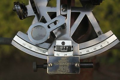 Nautical Solid Brass Sextant Vintage Marine Style Navy Sextant Ship Instrument 3