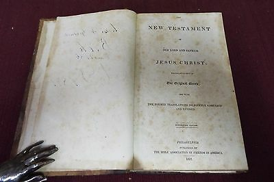 1831 New Testament, KJV - Bible Association of Friends in America 2 • CAD $349.32