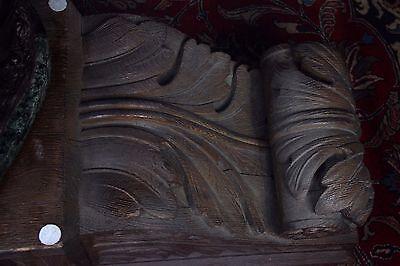 19C American J.P. Morgan N.Y.C. Bank Monumental Carved Acanthus Corbels 2