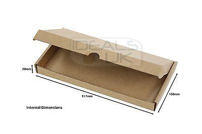 Royal Mail Large Letter Cardboard Postal Box Mailing PiP Boxes- Mini C6 DL C5 C4 4