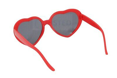 Lolita Purple Heart Shaped Sunglasses Girls Womens Teenager Small Adult TH006