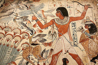 EGYPTIAN PAINTED ART Wall Mural Photo Wallpaper GIANT DECOR Paper