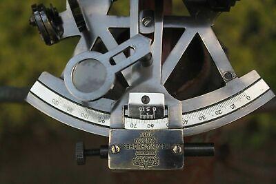 Solid Brass Sextant Vintage Marine Working German Sextant Ship Instrument 2