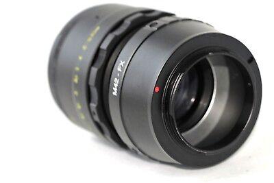New HELIOS 44-2 2/58mm+ adapter FujiFilm M42/FX Mount BEST Russian USSR Lens 2