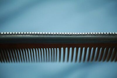 Vintage Anrique Sterling Silver And Bakelite Comb ! Amazing Shape ! Late 1800's