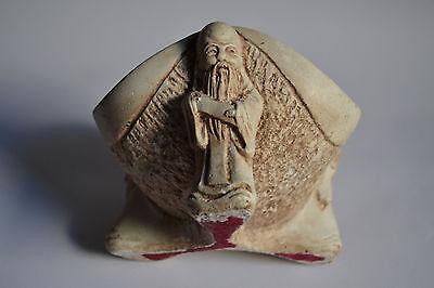 Almirez - Mortero de piedra Monjes con mazo en forma de pene - Asia - raro 5