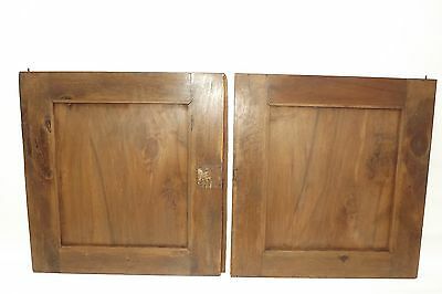 French Antique Pair Carved Wood Cupboard Door Panel Gothic Chimera Griffins 11