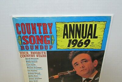 Country Song Roundup Magazine Winter Annual 1969 Johnny Cash 2