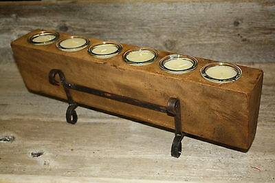 10 Replacement Sugar Mold Candle Holder Primitive TIN CUP Votives Candles