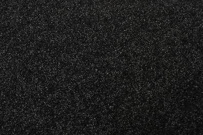 Rasenteppich Kunstrasen Premium schwarz grau 200x530 cm