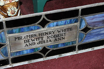 Antique Religious Church Stained Glass Window-Henry White-Architectural Window