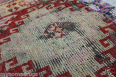 Stunning Antique Tribal Divan Dowry Runner Pile Rug c1920s Collector item Turkey 10