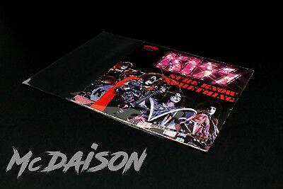 """McDAISON - 500 BUSTE dischi 45 GIRI RICHIUDIBILI copertina collezione vinile 7"""" 5"""