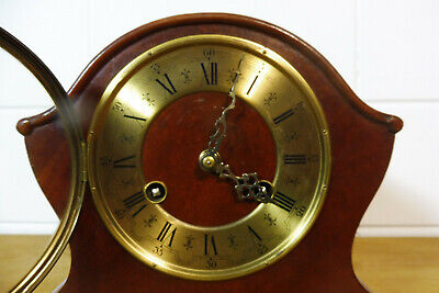 Dutch Warmink Wuba Clock Table Clock Mantel Clock 2 Bells Chime 11