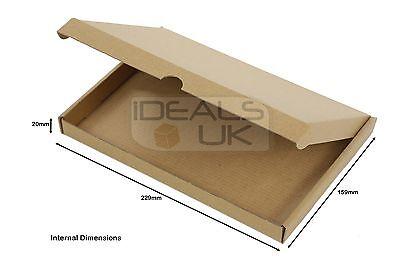Royal Mail Large Letter Cardboard Postal Box Mailing PiP Boxes- Mini C6 DL C5 C4 3