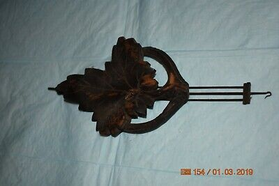 Antique cuckoo clock small pendulum for project 5