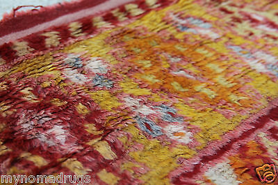 Stunning Antique Tribal Divan Dowry Runner Pile Rug c1920s Collector item Turkey 3