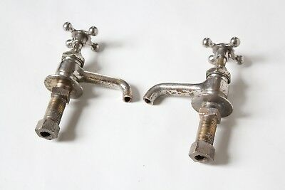 antique faucet bathroom sink   vtg victorian porcelain bathroom plumbing deco 5