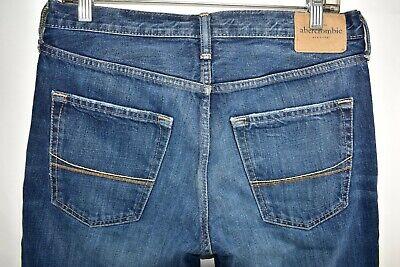 Abercrombie Fitch Kilburn Low Rise Boot Cut Boys Men Jeans Size 16 Meas 30x31 11