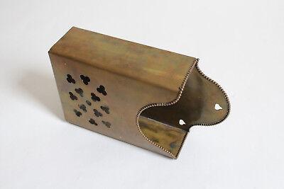 antique toilet tissue wall holder | brasscrafters victorian vtg deco tp holder 12