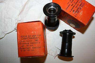 Vintage Romanian Bakelite Door Viewer Spy Unused In A Box 9