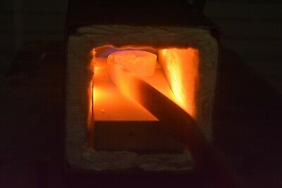 Propane Gas Forge Burner W / Hose & High Pressure Regulat0R America Made 12