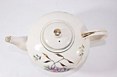 "VTG Tilso Japan Hand Painted Porcelain Teapot Music Box Plays ""Tea for Two"""