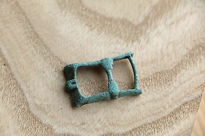 Kievan Rus Viking Bronze Buckle, Strap End, Part of Belt 9-10 AD 4 • CAD $31.89