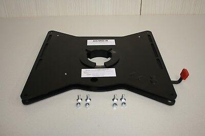 Peugeot Boxer/Fiat Ducato Driver Seat Swivel Plate, Motorhome Swivel Seat 3