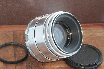 🎥 Excellent Helios 44 2/58 M39 M42 Silver Bokeh portrait Lens Perfekt seller 12