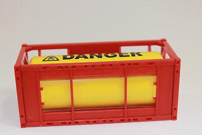 1x Container Tankcontainer Danger Stapelbar 1:50 Neu 3922 Baufahrzeuge