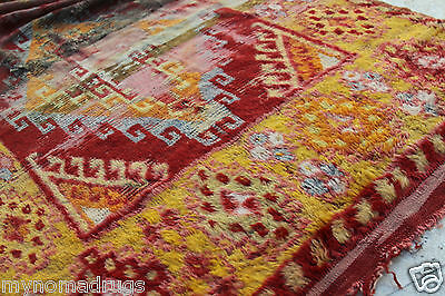Stunning Antique Tribal Divan Dowry Runner Pile Rug c1920s Collector item Turkey 2