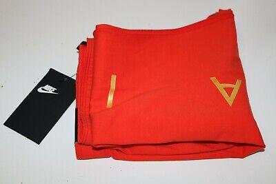 Nike Air Sport Metallic Cotton Leggings Girls - Red Aq9176-634 - M / 10-12 Years 12