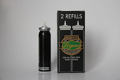 2 X Cork pops Refills Cartridges for CorkPops Wine Opener  - Australia 3 • AUD 49.95