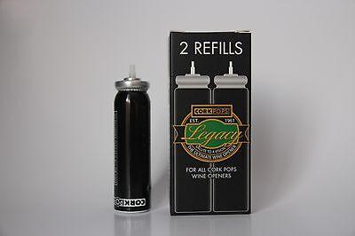 3 X Cork pops Refills Cartridges for CorkPops Wine Opener  - Australia 3 • AUD 69.95