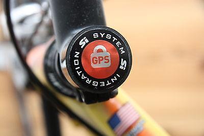 4 RAD GPS AUFKLEBER FAHRRAD SICHERUNG BIKE SECURE RENNRAD MTB BIKEFINDER TRACKER