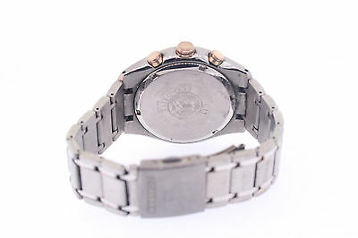 1f22fd40e ... Men's Citizen CA4017-59E Eco-Drive Chronograph Titanium Black Dial Watch  4