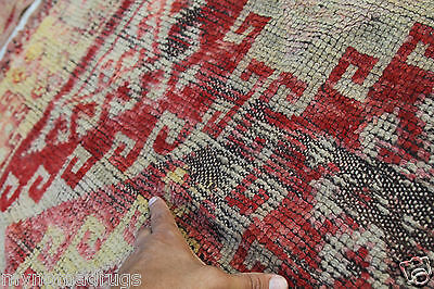 Stunning Antique Tribal Divan Dowry Runner Pile Rug c1920s Collector item Turkey 9