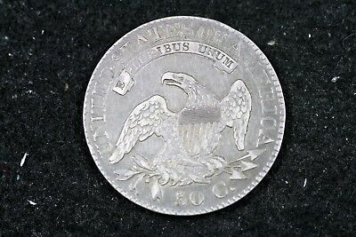 Estate Find 1824/4 - Capped Bust Half Dollar!!  #H19038 2