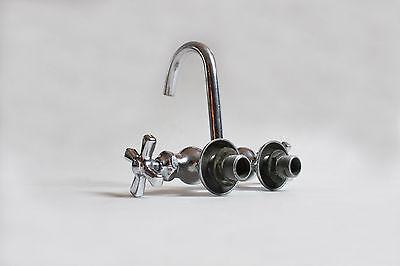 antique faucet tub filler sink | vtg mixing gooseneck faucet victorian deco 5
