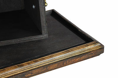 Beautiful solid wood casket with Bronze Statue -Belgian  Horse cremation Urn (2) 5