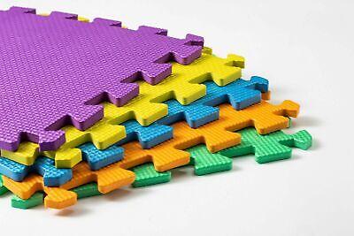 Kids Children PlayMats Soft Foam Interlocking Play Mats Outdoor Activity 9 Pc 5