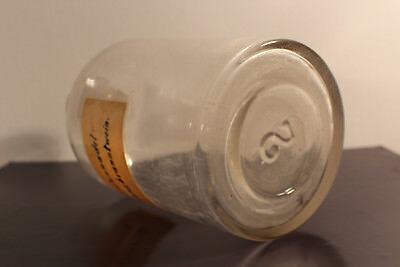 Apotheker Flasche Glas Labor Fichtennadel Franzbranntwein Glasstopfen #6286 4