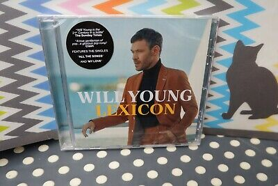 """Will Young New Sealed Fast Freepost 2019 UK#1 album """"Lexicon"""" CD Ground Running 5"""