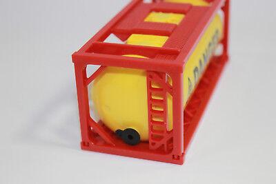 Modellbau 1x Container Tankcontainer Danger Stapelbar 1:50 Neu 3922 Baufahrzeuge