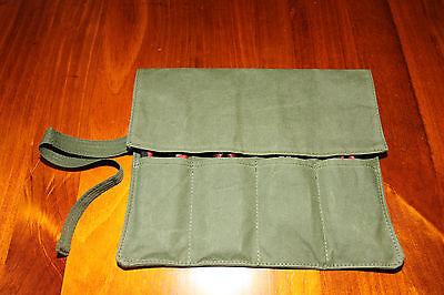 Plier Tool Roll.  4 Pocket.   Australian made with Australian canvas. 3