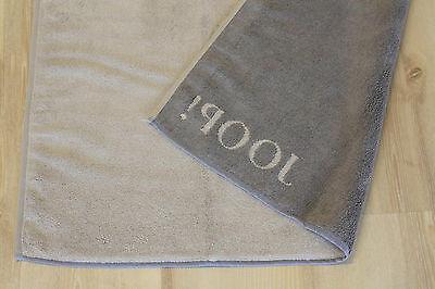 JOOP Badematte Duschvorleger 1600 Classic Doubleface 97 Schwarz 50x80cm